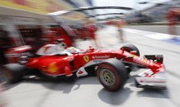 Hungary Formula One - F1 - Hungarian Grand Prix 2016 - Hungaroring, Hungary - 23/7/16 Ferrari's Sebastian Vettel during practice REUTERS/Laszlo Balogh