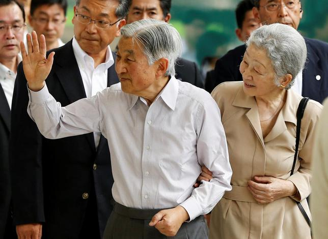 If the pope can retire, why can't Japan's elderly emperor?