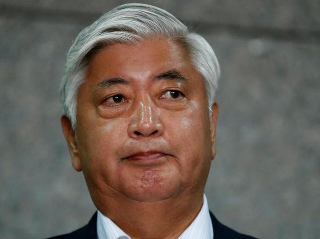 8月3日、中谷元防衛相は、同日朝に北朝鮮が発射した弾道ミサイルについて、同国西岸から約1000キロ飛行し、日本海上の日本の排他的経済水域(EEZ)内に落下したと推定していることを明らかにした。写真は都内で6月撮影(2016年 ロイター/Toru Hanai)