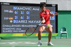 Ana Ivanovic, no Rio 6/8/2016 Michael Madrid-USA TODAY Sports