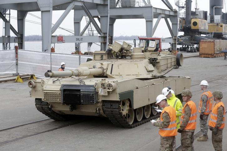 U S  approves $1 15 billion sale of tanks, equipment to