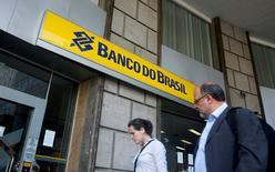 Agência do Banco do Brasil no centro do Rio de Janeiro.        15/12/2014          REUTERS/Pilar Olivares/File Photo