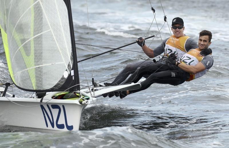 Sailing: New Zealand 49er men clinch gold; women's medal ...