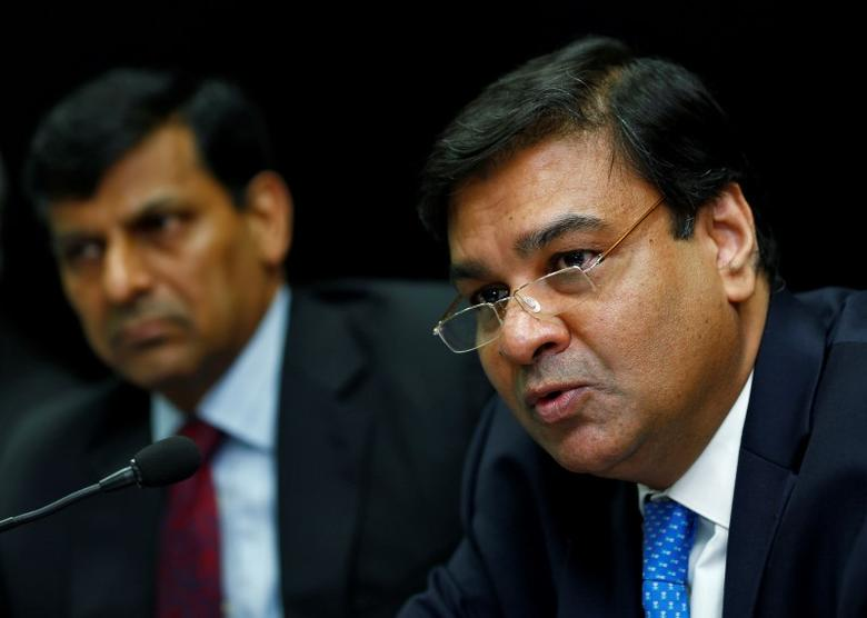 Reserve Bank of India (RBI) Deputy Governor Urjit Patel attends a news conference after the bi-monthly monetary policy review in Mumbai, India, August 9, 2016. Picture taken August 9, 2016. REUTERS/Danish Siddiqui