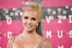 Britney Spears durante MTV Video Music Awards em Los Angeles. 30;8;2015.  REUTERS/Danny Moloshok