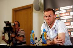 England's Wayne Rooney during the press conference. England Press Conference - St. George's Park - 30/8/16. Action Images via Reuters / Carl Recine Livepic