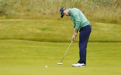 Britain Golf - Aberdeen Asset Management Scottish Open - Castle Stuart Golf Links, Inverness, Scotland - 9/7/16 Scotland's Russell Knox in action during the third round Action Images via Reuters / Jason Cairnduff Livepic