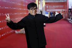 Ator Jackie Chan. 13/06/2015 REUTERS/Aly Song