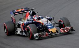 Hungary Formula One - F1 - Hungarian Grand Prix 2016 - Hungaroring, Hungary - 22/7/16 Toro Rosso's Daniil Kvyat during practice REUTERS/Laszlo Balogh - RTSJ775