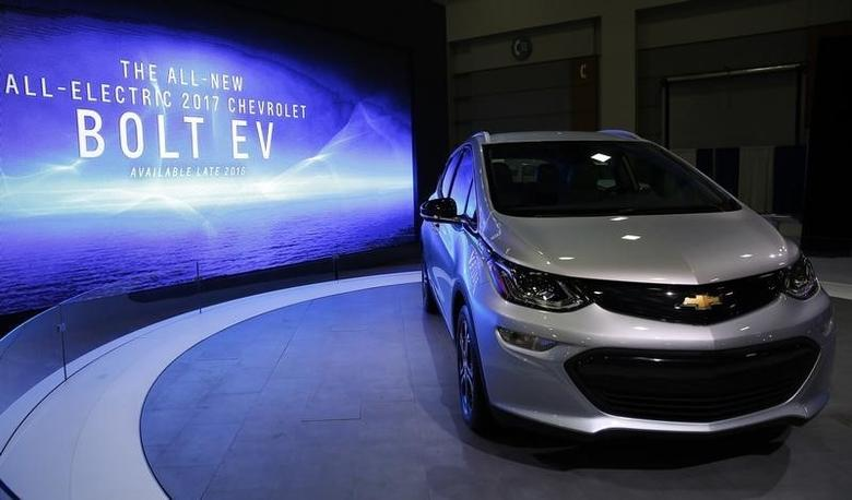gm says bolt ev to have 238 mile range more than tesla model 3 reuters. Black Bedroom Furniture Sets. Home Design Ideas