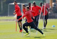 Manchester United's Wayne Rooney during training. Manchester United Training - Manchester United Training Ground - 14/9/16. Action Images via Reuters / Ed Sykes Livepic