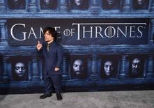 "Cast member Peter Dinklage attends the premiere for the sixth season of HBO's ""Game of Thrones"" in Los Angeles, California, U.S. April 10, 2016. REUTERS/Phil McCarten/File Photo"