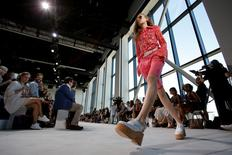 Desfile do estilista Michael Kors na Semana de Moda de Nova York.   REUTERS/Andrew Kelly