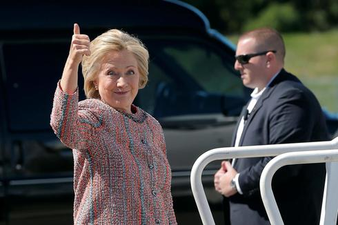 Hillary back on the trail