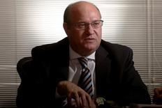 Presidente do Banco Central, Ilan Goldfajn, em entrevista à Reuters em Brasília, Brasil 15/09/2016 REUTERS/Adriano Machado