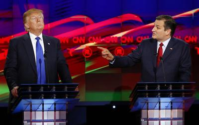 Cruz and Trump's love-hate relationship