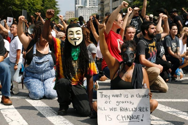 Charlotte protesters march for sixth night despite ...