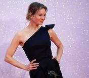 """Renée Zellweger durante lançamento do novo filme de """"Bridget Jones"""", em Londres.  5/9/2016. REUTERS/Dylan Martinez"""
