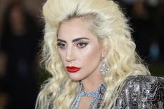 Singer-songwriter Lady Gaga  in the Manhattan borough of New York, May 2, 2016. REUTERS/Eduardo Munoz/File Photo