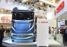 L'équipementier automobile Robert Bosch a porté plainte aux Etats-Unis contre son concurrent sud-coréen Mando qu'il accuse d'avoir enfreint quatre brevets. /Photo prise le 22 septembre 2016/REUTERS/Fabian Bimmer