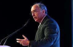 Presidente-executivo da Petrobras, Pedro Parente, participa de fórum sobre política e economia em São Paulo, Brasil 30/09/2016 REUTERS/Paulo Whitaker