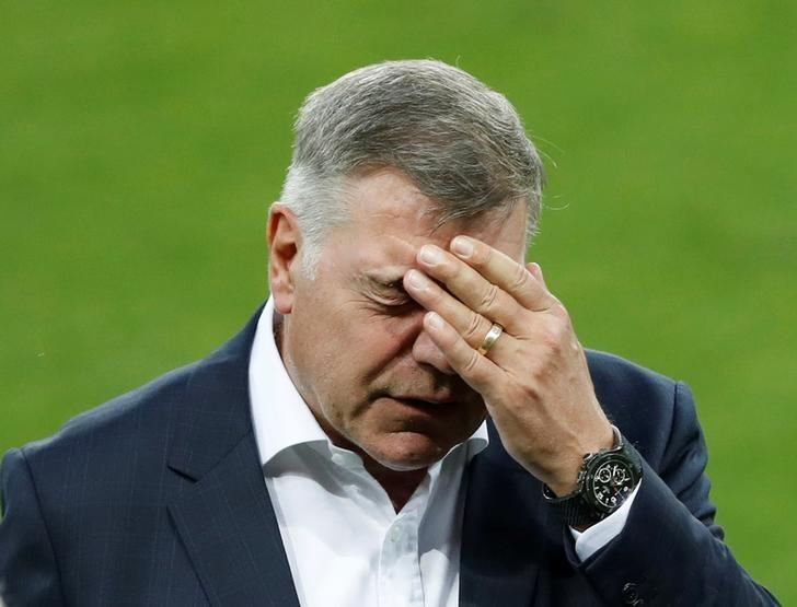 FILE PHOTO -  Football Soccer - England Stadium Visit - City Arena, Trnava, Slovakia - 3/9/16England manager Sam Allardyce during the stadium visitAction Images via Reuters / Carl Recine/Files