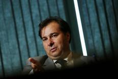 Presidente da Câmara dos Deputados, Rodrigo Maia, durante entrevista à Reuters, em Brasília 03/08/2016  REUTERS/Adriano Machado