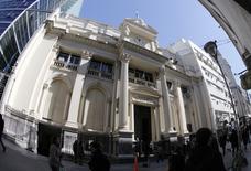 El Banco Central de Argentina en Buenos Aires, ago 27, 2013. Argentina colocó el miércoles bonos en euros en dos tramos por un total de 2.500 millones de euros, dijo el Ministerio de Hacienda en un comunicado, la primera emisión de deuda en esa moneda en 15 años. REUTERS/Enrique Marcarian