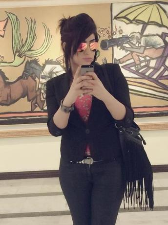 Social media celebrity Qandeel Baloch, who was strangled in what appeared to be an ''honour killing,'' in Multan, Pakistan, is pictured in a selfie on her Facebook page. Qandeel Baloch/Facebook/via Reuters/Files