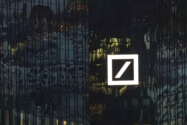 The headquarters of Germany's Deutsche Bank is seen in Frankfurt, Germany, September 29, 2016. Picture taken September 29, 2016.      REUTERS/Kai Pfaffenbach