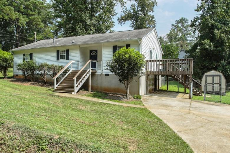 A home in Lexington, South Carolina, that was purchased earlier this year by San Francisco-based investor Yang Guo through HomeUnion as an investment is seen in an undated handout picture.Home Union, Inc/Handout via REUTERS