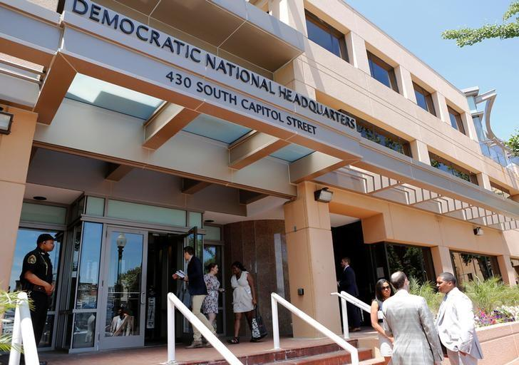 The headquarters of the Democratic National Committee is seen in Washington, U.S. June 14, 2016. REUTERS/Gary Cameron/File Photo