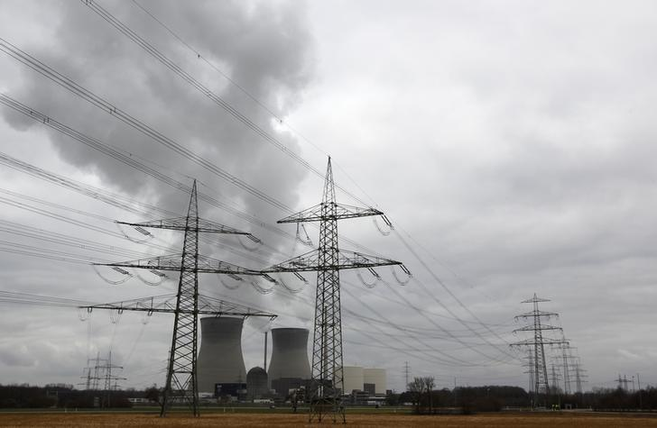 The nuclear power plant of Gundremmingen is pictured on March 11, 2012, the first anniversary of Japan's earthquake and tsunami that killed thousands and set off a nuclear crisis.    REUTERS/Michaela Rehle