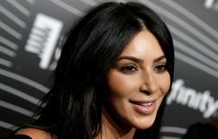 Kim Kardashian concede entrevista em Manhattan.  16/5/2016. REUTERS/Mike Segar