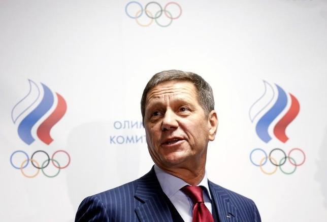 10月12日、ロシア・オリンピック委員会のアレクサンドル・ジューコフ会長が退任の意思を固めたことが11日、明らかになった。モスクワで2015年11月撮影(2016年 ロイター/Maxim Zmeyev)