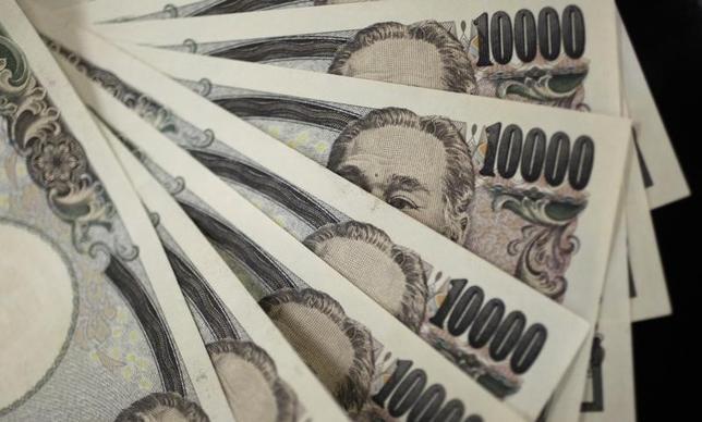 10月14日、日銀が発表した9月のマネーストック(M2)は前年比3.6%増(8月同3.3%増)となった。2011年8月撮影(2016年 ロイター/Yuriko Nakao)