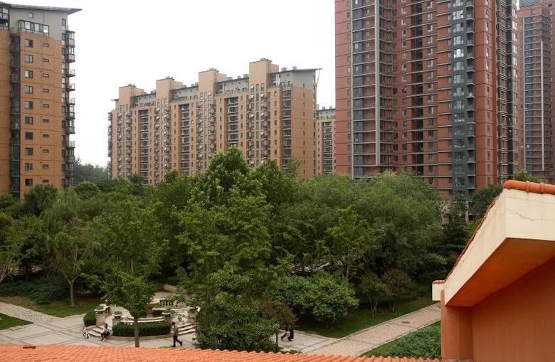 2016年7月15日,北京的一处住宅小区。REUTERS/Thomas Peter