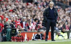 Britain Soccer Football - Manchester United v Stoke City - Premier League - Old Trafford - 2/10/16 Manchester United manager Jose Mourinho  Action Images via Reuters / Carl Recine Livepic