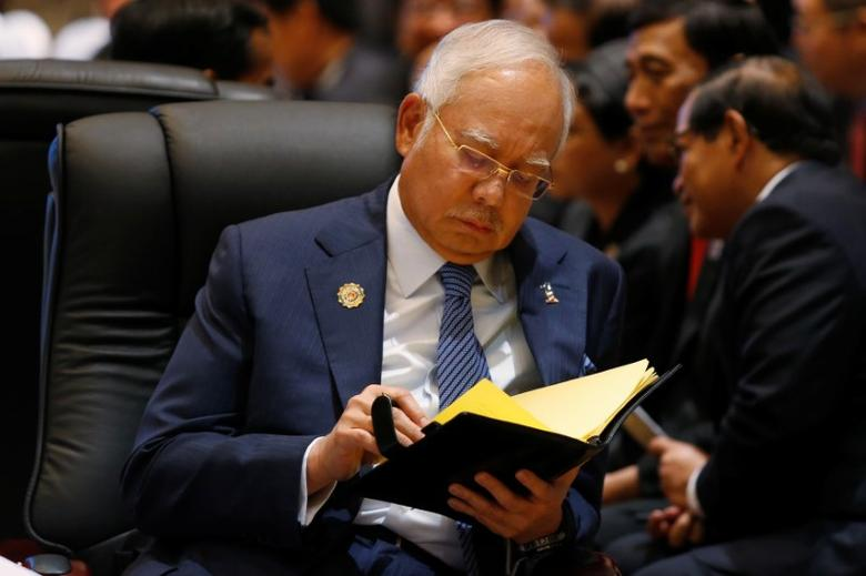 Malaysian Prime Minister Najib Abdul Razak attends the ASEAN-US Summit in Vientiane, Laos September 8, 2016.  REUTERS/Jorge Silva