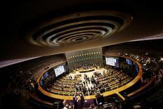 Vista do plenário da Câmara dos Deputados, em Brasília 13/07/2016 REUTERS/Ueslei Marcelino