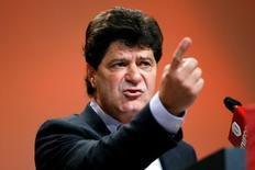 Unifor President Jerry Dias speaks during the Unifor convention in Ottawa, Ontario, Canada, August 24, 2016. REUTERS/Chris Wattie