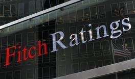 La casa matriz de la calificadora Fitch Ratings en Nueva York, feb 6, 2013. La agencia Fitch Ratings dijo que la calificación de Ecuador puede verse perjudicada por un aumento de los niveles de deuda, pocos días después de que el presidente Rafael Correa cambió por decreto un cálculo del endeudamiento público, que está limitado a un 40 por ciento de Producto Interno Bruto (PIB).  REUTERS/Brendan McDermid