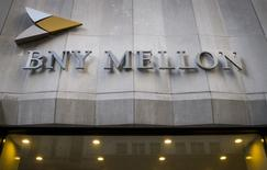 The Bank of New York Mellon Corp. building at 1 Wall St. is seen in New York's financial district March 11, 2015. REUTERS/Brendan McDermid