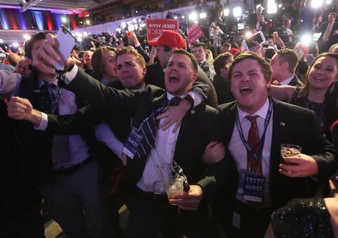 Inside Trump's election night rallies