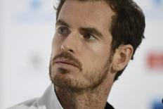 Great Britain's Andy Murray during a press conference Action Images via Reuters / Tony O'Brien Livepic