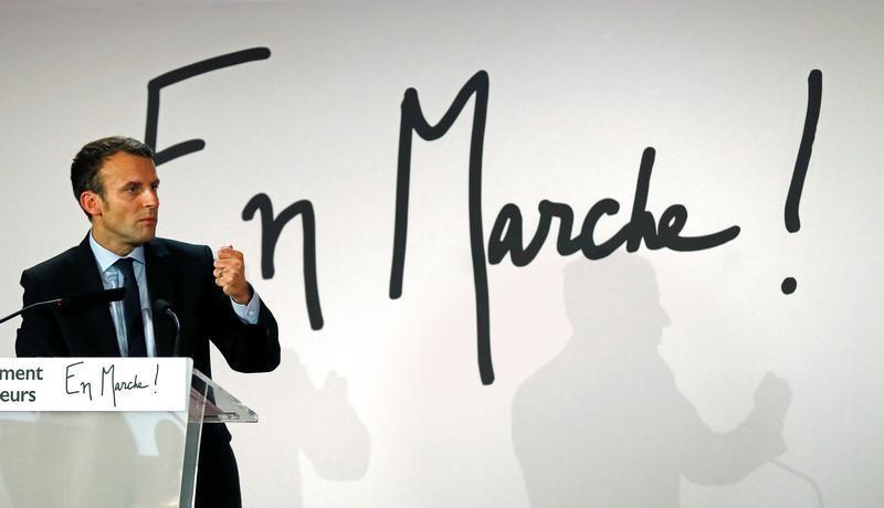 תוצאת תמונה עבור macron marche