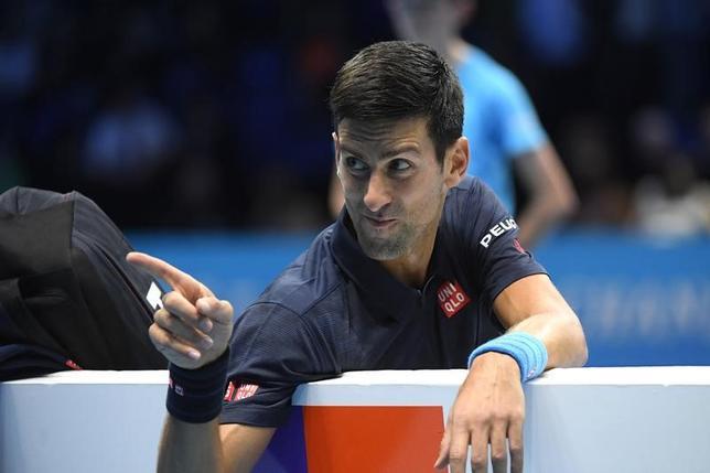 11月17日、男子テニスの世界ランク2位、ノバク・ジョコビッチは、国際テニス連盟(ITF)に対し、国別対抗戦のデビスカップ(杯)のスケジュールなどを改善することを改めて求めた(2016年 ロイター)