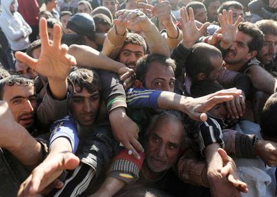 Desperation outside Mosul
