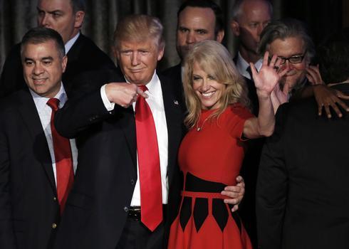 Kellyanne Conway advising Trump