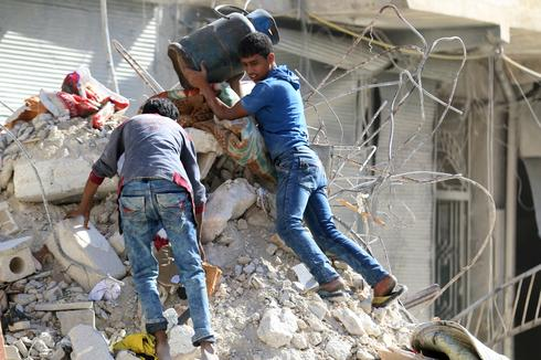 Hunger and desperation in Aleppo